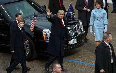 Pawai Inagurasi Donald Trump sebagai Presiden ke-45 Amerika Serikat