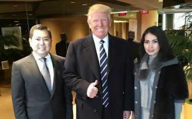 Hary Tanoe Bertemu Presiden Donald Trump Usai Pelantikan