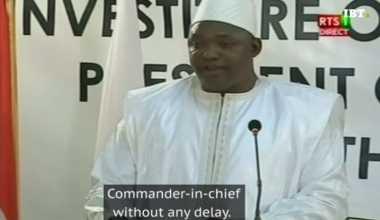 Presiden Petahana Yahya Jammeh Diminta Tinggalkan Gambia dalam Hitungan Jam