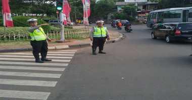 Lalin Jakarta Lancar Pagi Ini