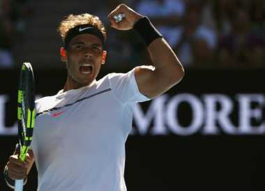Rafael Nadal Susah Payah Melaju Ke Babak Keempat Australia Open 2017