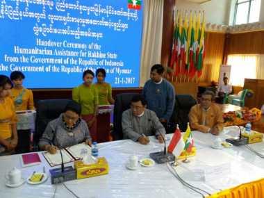 Bantuan Kemanusiaan Indonesia Wujud Dukungan Konstruktif kepada Myanmar