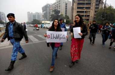 Warga India Gelar Demo Terkait Pelecehan Seksual Massal di 30 Kota