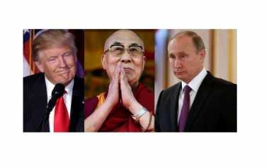 Dalai Lama Harapkan Kerjasama Putin dan Trump