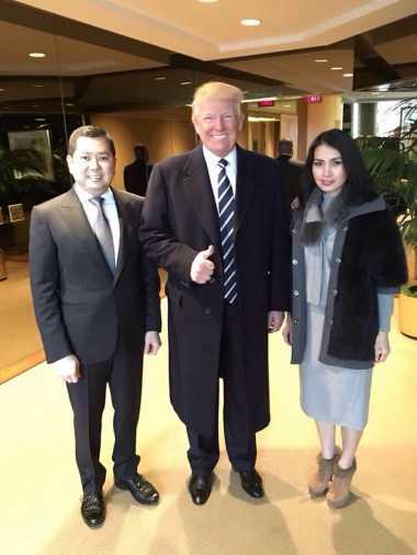 Netizen Berharap Kedekatan Hary Tanoe dan Trump Bawa Kemajuan Indonesia-AS