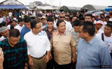 Jelang Debat Kedua, Prabowo: Saya Jadi Manajer Anies-Sandi