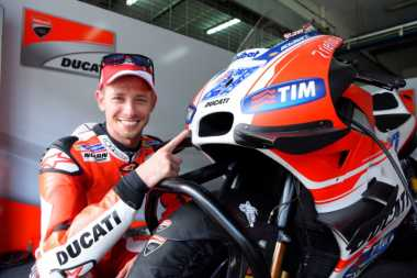 Ducati Akan Manfaatkan Kehadiran Casey Stoner Sebaik Mungkin