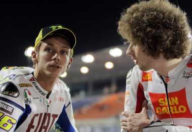 Rindunya Valentino Rossi pada Mendiang Marco Simoncelli
