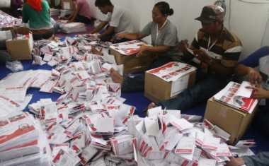 Pilbup Cilacap, KPU Terima 1,5 Juta Surat Suara
