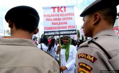 TKW Ponorogo Dianiaya di Singapura Laporkan Calo ke Polda