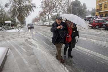 Lebih dari 25 Provinsi di Spanyol Siaga Badai Salju