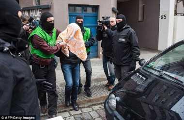 Polisi Jerman Ciduk Pria yang Berencana Lancarkan Serangan Bom