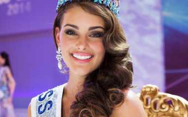 Selamat! Miss World 2014, Rolene Strauss Lahirkan Anak Laki-Laki