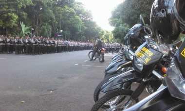 Jelang Pemeriksaan Habib Rizieq, Pengamanan di Mapolda Metro Jaya Diperketat