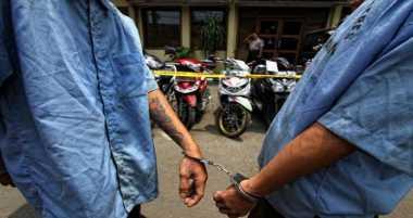Polantas Tangkap Pengedar Narkoba di Jalan Tol