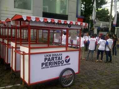 Perindo Akan Bagikan Gerobak di Empat Titik di Bandar Lampung