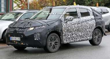 Mitsubishi Lakukan Uji Jalan Mobil SUV Penantang Nissan Qashqai