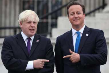 David Cameron Bayangkan Boris Johnson saat Latihan Tembak Burung