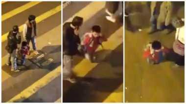 Ayah Ditangkap Usai Paksa Anak Berjalan Menggunakan Lutut