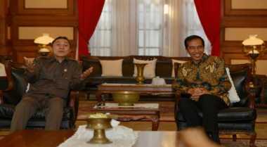 Konsultasi dengan Presiden, Pimpinan MPR Tiba di Istana