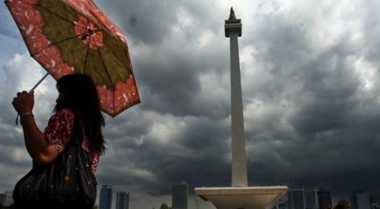 Hujan Diprediksi Guyur Jakarta Sepanjang Hari