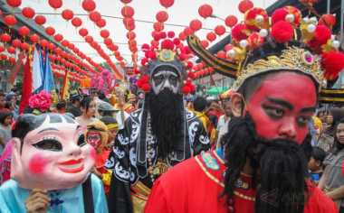 Begini Jadinya Kalau Budaya Tionghoa dan Jawa Jadi Satu di Kirab Budaya Grebeg Sudiro