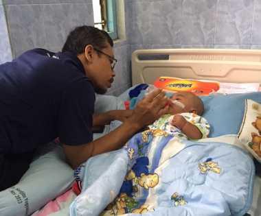 Bayi Tsaqif Peroleh Donasi Rp 147 Juta, Keluarga Diminta Gunakan Dengan Bijak