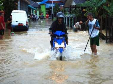 Diguyur Hujan 3 Jam, Yogyakarta Kebanjiran