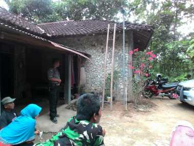 Lokasi Kemunculan Uap Panas di Gunungkidul Dipasang Garis Polisi