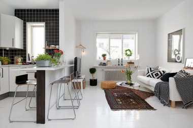 TOP FAMILY 3: Dekorasi Apartemen Pasangan Baru Menikah Seperti Ini