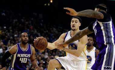 Klay Thompson Jadi Motor Kemenangan Warriors atas Kings