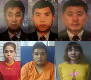 Ini Foto Siti Aisyah dan 9 Tersangka Pembunuhan Kim Jong-nam