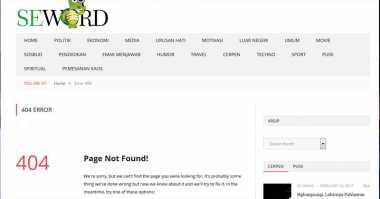Cemarkan Nama Baik, Seword.com Terancam Langgar UU ITE dengan Pidana 4 Tahun