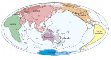 HEBOH ZEALANDIA! Benua Baru yang Muncul di Sebelah Australia