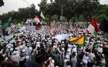 Massa Aksi 212 dari Luar Jakarta Sudah Tiba dengan 40 Bus
