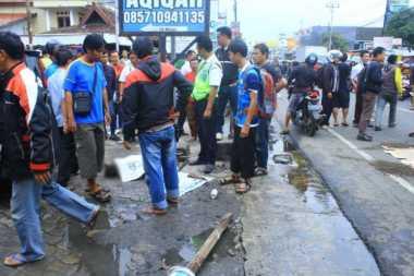 Sadis, Bocah Ini Tewas Kecelakaan saat Menyeberang Jalan di Bogor