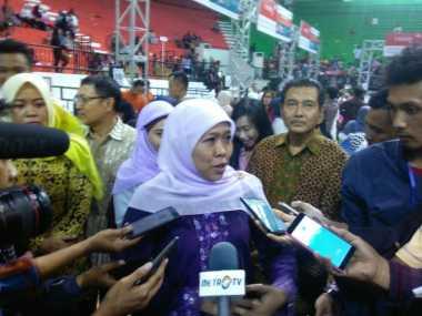 Mensos Lantik Pengurus Muslimat NU di Merangin Jambi