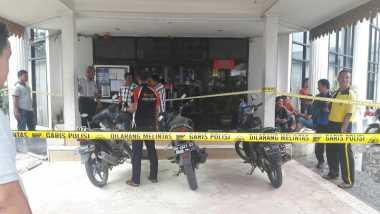 Polisi Buru Pelaku Pelemparan Bom Molotov Dua Bank di Riau