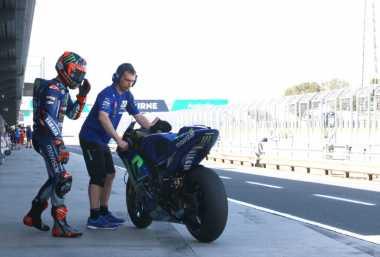 Hasil Positif di Tes Pramusim Australia, Vinales: Ini Berkat Tim Yamaha yang Berpengalaman