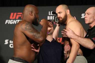 Duel Panas Ulimate Fighting Championship, Lewis Menang atas Browne