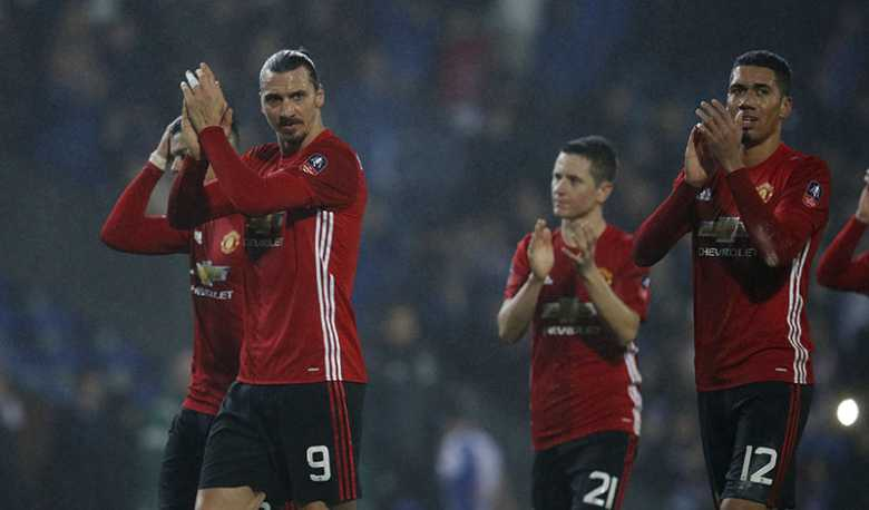 Susah Payah, Man United Taklukkan Blackburn 2-1