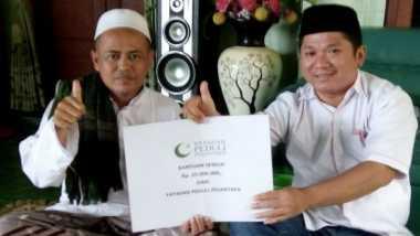 Yayasan Peduli Pesantren Salurkan Bantuan ke Ponpes di Sumenep