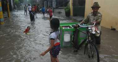 Banjir Kepung Mojokerto, 6 Desa dan 2 Kelurahan Terendam