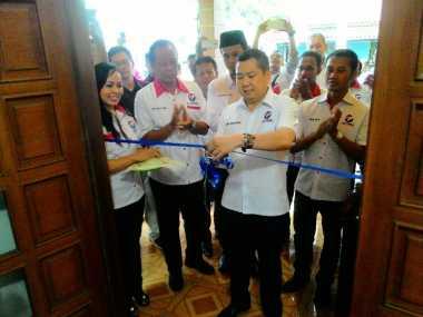 Hary Tanoe Resmikan Kantor Sekretariat DPD Partai Perindo Kota Banjar