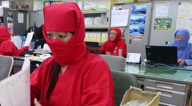 VIDEO: Begini jika Para Ninja Bekerja Kantoran
