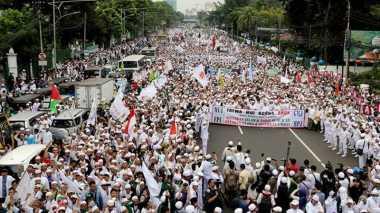 Aksi Damai 212, 10 Ribu Orang Akan Padati Depan Gedung MPR/DPR Hari Ini