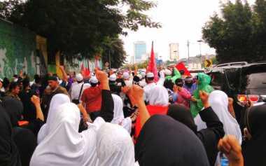 Aksi 212 Jilid II, Massa Teriakkan Tuntutan Ahok Dipenjarakan