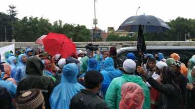 Aksi 212 Jilid II, Terjadi Insiden Pengusiran Wartawan Televisi Swasta