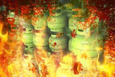 Duarr...Ibu dan Anak Terkena Ledakan Tabung Gas di Bekasi