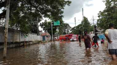 Banjir Terjang Jakarta, Kali Karet Siaga I